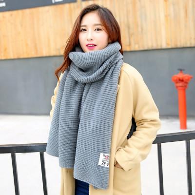 (พร้อมส่งสีเทา) ผ้าคลุมกันหนาว ผ้าพันคอแฟชั่น ผ้าพันคอกันหนาว อุปกรณ์กันหนาว