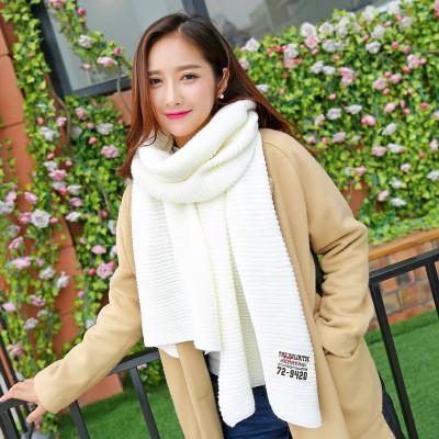 (พร้อมส่งสีขาว) ผ้าคลุมกันหนาว ผ้าพันคอแฟชั่น ผ้าพันคอกันหนาว อุปกรณ์กันหนาว