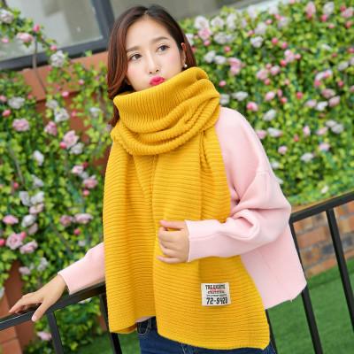 (พร้อมส่งสีเหลือง) ผ้าคลุมกันหนาว ผ้าพันคอแฟชั่น ผ้าพันคอกันหนาว อุปกรณ์กันหนาว