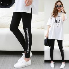 เสื้อผ้าผู้หญิง ราคาถูก กางเกงกางเกงแฟชั่น กางเกงลำลอง  เท่ๆ มี สีดำ สีเทาอ่อน มี ไซร์ M L