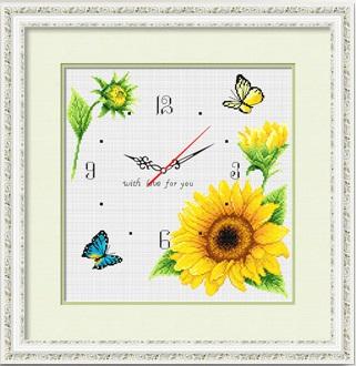 Sunflower (+นาฬิกา)(พิมพ์ลาย)