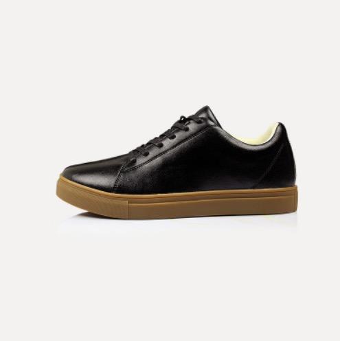 ขนาด: 44 45 46 47 48  สี:ดำ รองเท้าผู้ชาย รองเท้าหนัง ขนาดใหญ่