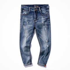 กางเกงผู้ชาย ผู้หญิง ราคาถูก กางเกงยีนส์ มี สีตามรูป มี ไซร์ 28-34