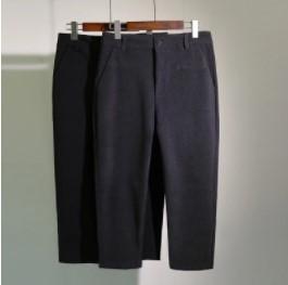 กางเกงขาสามส่วน เนื้อผ้า มี2สี เทา/ดำ มีไซส์ XL/2XL/3XL/4XL