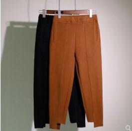 กางเกงขาสี่ส่วน เนื้อผ้า มี2สี น้ำตาล/ดำ มีไซส์ XL/2XL/3XL/4XL
