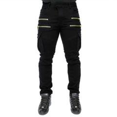 กางเกงผู้ชาย ผู้หญิง ราคาถูก กางเกงยีนส์ มี สีดำ สีเขียว มี ไซร์ M L XL 2XL 3XL