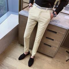 กางเกงผู้ชาย ราคาถูก กางเกงขายาว กางเกงแฟชั่น กางเกงลำลอง มี สีดำ สีกากี สีมะนาวเหลือง มี ไซร์ 29-38