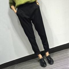 กางเกงผู้หญิง ราคาถูก กางเกงฝ้าย กางเกงลำลองฮาเร็ม กางเกงแฟชั่น กางเกงลำลอง เท่ๆ มี สีดำ มี ไซร์ S M L XL 2XL 3XL
