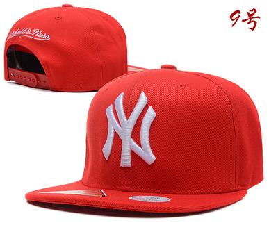 หมวกผู้ชาย ผู้หญิง ราคาถูก หมวก Hiphop หมวก NY (ปรับได้)