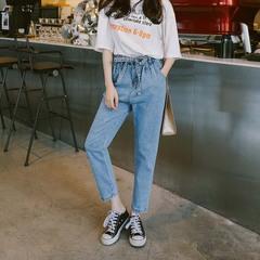 กางเกงผู้หญิง ผู้ชาย ราคาถูก กางเกงยีนส์  มี สีฟ้า สีน้ำเงิน มี ไซร์ 25-32