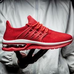 รองเท้าผู้ชาย ราคาถูก รองเท้าแฟชั่น รองเท้าผ้าใบ เกาหลี มี สีดำ สีแดง สีเทา มี ไซร์ 39-44