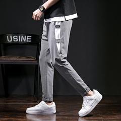 กางเกงผู้ชาย ราคาถูก กางเกงแฟชั่น กางเกงลำลอง มี สีเทา สีดำ มี ไซร์ 29-36