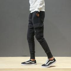 กางเกงผู้ชาย ราคาถูก กางเกงแฟชั่น กางเกงลำลอง มี สีดำ มี ไซร์ M L XL 2XL 3XL