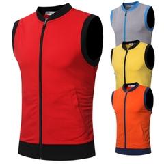 เสื้อผ้าผู้ชาย ผู้หญิง ราคาถูก เสื้อยืดแขนกุด มี สีส้ม สีแดง สีเหลือง สีเทา มี ไซร์ M L XL 2XL 3XL
