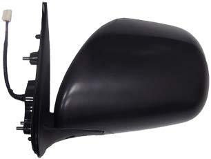 กระจกมองข้างคอมมูเตอร์ ทรงยาว ไฟฟ้า 5 สายLH (สีดำ)(SL1630EL)