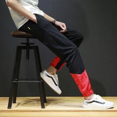 กางเกงผู้ชาย ราคาถูก กางเกงแฟชั่น กางเกงลำลอง มี สีดำ สีน้ำเงิน สีแดง มี ไซร์ M L XL 2XL