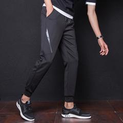 กางเกงผู้ชาย ราคาถูก กางเกงแฟชั่น กางเกงลำลอง มี สีดำ มี ไซร์ M L XL 2XL