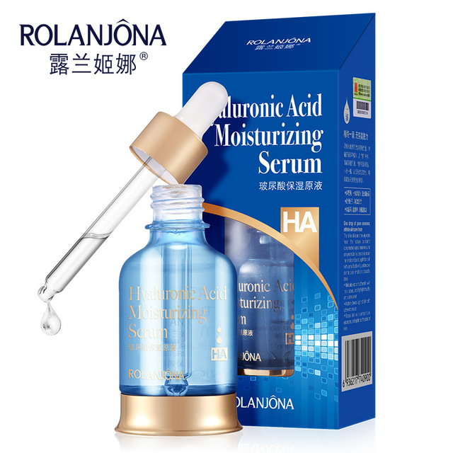 ROLANJONA Hyaluronic Acid Moisturizing serum  เซรั่มบำรุงผิวหน้า ลดรูขุมขนกว้างและยกกระชับผิว  สูตรไฮยาลูรอนให้ผิวชุ่มชื่นถึงขีดสุด