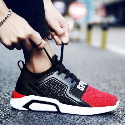 รองเท้าผู้ชาย ราคาถูก รองเท้าผ้าใบ รองเท้าแฟชั่น มี สีดำ สีเทา สีดำแดง มี ไซร์ 35-44