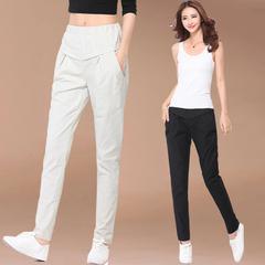 กางเกงผู้หญิง ราคาถูก กางเกงฝ้าย กางเกงแฟชั่น กางเกงลำลอง เท่ๆ มี สีน้ำตาล สีขาว สีดำ มี ไซร์ S M L XL 2XL 3XL