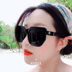 แว่นกันแดด ราคาถูก แว่นตากันแดด มี สีดำ สีผงโปร่งชมพู สีเงิน สีขาว