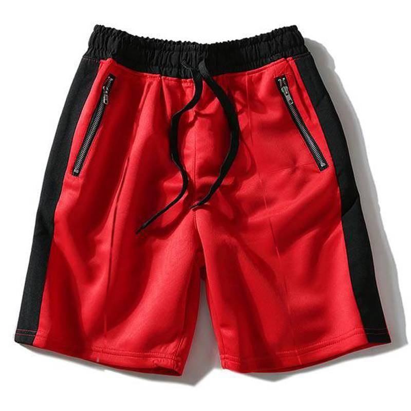 ขนาด:2XL 3XL 4XL 5XL 6XL 7XL 8XL สี:ดำ/แดง กางเกงคนอ้วน กางเกงผู้ชาย ขนาดใหญ่ กางเกงขาสั้น