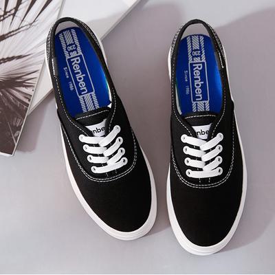 รองเท้าผู้หญิง ราคาถูก รองเท้าผ้าใบ รองเท้าแฟชั่น รองเท้าลำลองแบบใหม่เกาหลี  มี สีดำ สีขาว สีชมพู มี ไซร์ 35-40
