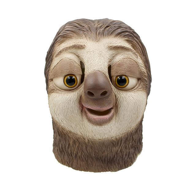 ++พร้อมส่ง++หน้ากากสล็อต  Zootopia  หน้ากาก Sloth ซูโทเปีย