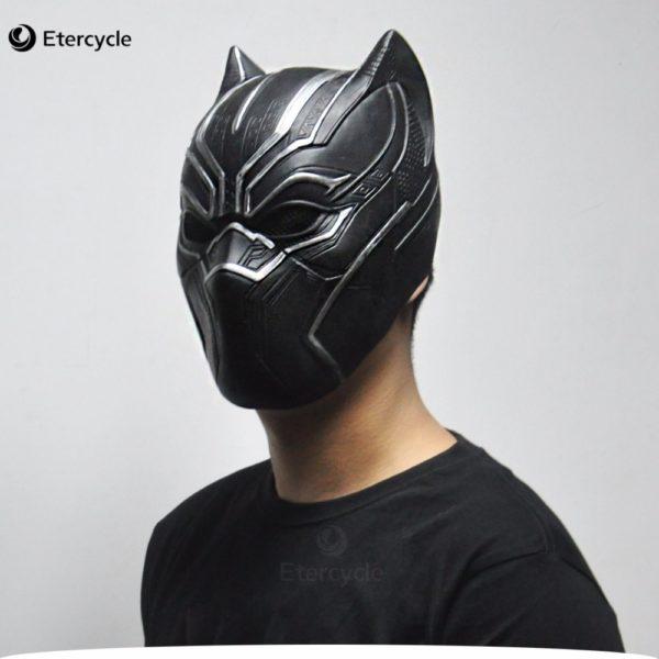 ++พร้อมส่ง++หน้ากากBLACK PANTHER Black Panther ราชาเสือดำแห่ง Wakanda หน้ากากแบล็คแพนเธอร์