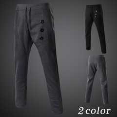 กางเกงผู้ชาย ผู้หญิง ราคาถูก กางเกงลำลอง กางเกงแฟชั่น เกาหลี มี สีหมอก สีดำ มี ไซร์ M L XL 2XL 3XL