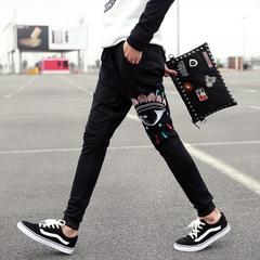 กางเกงผู้ชาย ผู้หญิง ราคาถูก กางเกงลำลอง กางเกงแฟชั่น เกาหลี มี สีน้ำเงิน สีดำ มี ไซร์ M L XL 2XL
