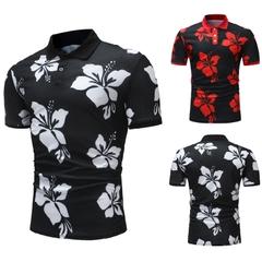 เสื้อผ้าผู้ชาย ราคาถูก เสื้อโปโล เท่ๆ มี สีดำขาว สีดำแดง มี ไซร์  M L XL 2XL 3XL