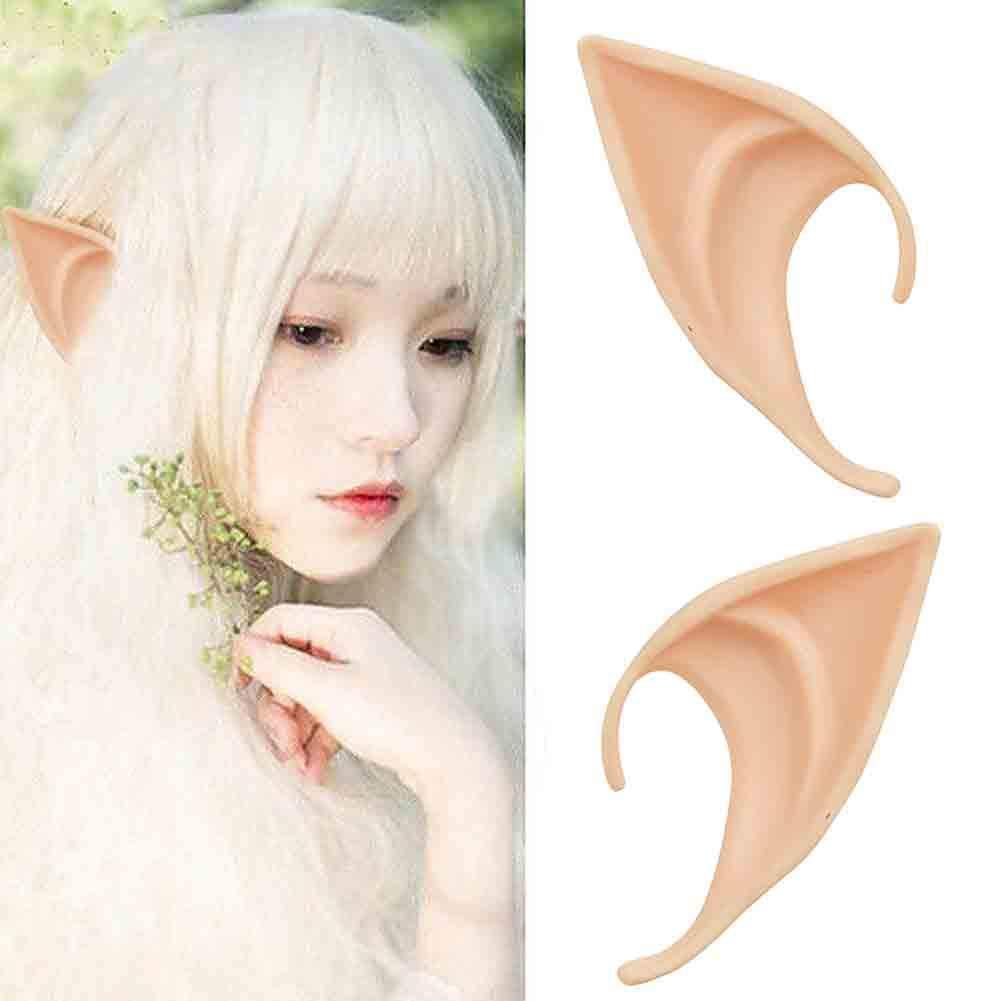 ++พร้อมส่ง++หูเอลฟ์ หูelf หูนางฟ้า หูเทวดา Elf ears สำหรับปาร์ตี้ คอสเพลย์ หูปลอม