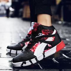 รองเท้าผู้ชาย ผู้หญิง ราคาถูก รองเท้าแฟชั่น รองเท้าผ้าใบ เท่ๆ มี สีน้ำเงิน สีดำ สีดำแดง  มี เบอร์ 35-45