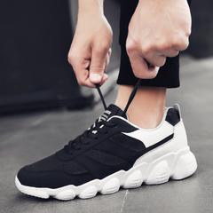 รองเท้าผู้ชาย ราคาถูก รองเท้าผ้าใบ รองเท้าแฟชั่น มี สีดำ สีขาว สีเทา มี ไซร์ 39-44