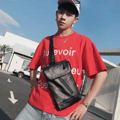 กระเป๋าผู้ชาย ราคาถูก กระเป๋าสะพายอก เอว ไหล่ กระเป๋าถือ เท่ๆ มี สีดำ สีลาย