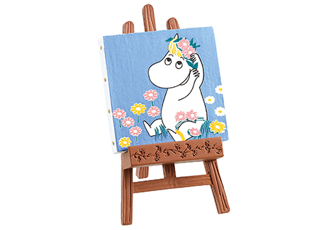 พร้อมส่ง>> Re-ment ของเล่นจิ๋วญี่ปุ่น Moomin - Canvas Collection (แยกขายกล่องเล็ก)