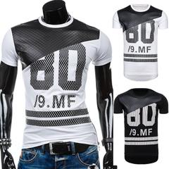 เสื้อผ้าผู้ชาย ผู้หญิง ราคาถูก เสื้อยืดแขนสั้น เท่ๆ มี สีขาว สีดำ มี ไซร์ S M L XL 2XL