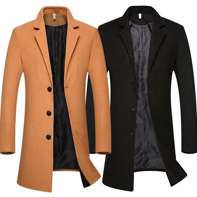 เสื้อโค๊ทตัวยาวผู้ชาย เสื้อสูทตัวยาว เสื้อโค๊ทกันหนาว เสื้อโค๊ทแฟชั่นตัวยาว