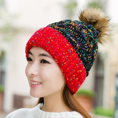 หมวกไหมพรมแฟชั่น หมวกไหมพรมกันหนาว หมวกผู้หญิง หมวกกันหนาวผู้หญิง