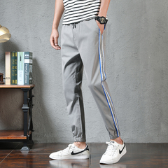 กางเกงผู้ชาย ราคาถูก กางเกงแฟชั่น กางเกงลำลอง มี สีเทา สีดำ มี ไซร์ M L XL 2XL 3XL 4XL 5XL