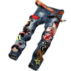 กางเกงผู้ชาย ผู้หญิง ราคาถูก กางเกงยีนส์ขายาว มี สีตามรูป มี ไซร์ 28-38