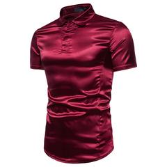 เสื้อผ้าผู้ชาย ผู้หญิง ราคาถูก เสื้อยืดแขนสั้น เท่ๆ มี สีดำ สีเงิน สีไวน์แดง มี ไซร์ M L XL 2XL