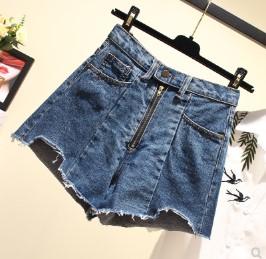 กางเกงขาสั้น ผ้ายีนส์ มี2สี น้ำเงิน/ฟ้า มีไซส์ L/XL/2XL/3XL/4XL