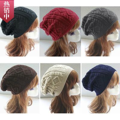 หมวกไหมพรม หมวกกันหนาว หมวกผู้หญิง หมวกแฟชั่นกันหนาว