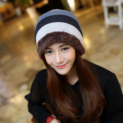 หมวกไหมพรมผู้หญิง หมวกกันหนาว หมวกไหมพรมกันหนาว