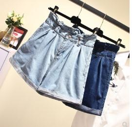 กางเกงขาสั้น ผ้ายีนส์ มี2สี ฟ้า/น้ำเงิน มีไซส์ L/XL/2XL/3XL/4XL