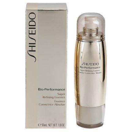 **พร้อมส่ง**Shiseido Bio Performance Super Refining Essence 50 ml. เซรั่มทรงประสิทธิภาพตอบรับทุกปัญหาผิวในหนึ่งเดียว ช่วยลดเลือนความหมองคล้ำ โทนสีผิวดูกระจ่างใสขึ้น ให้ผิวที่แลดูมีสุขภาพดี เปล่งประกายลดเลือนรอยแดง ริ้วรอยต่างๆ รังสรรค์ผิวแลดูสวยเปล่งประกา