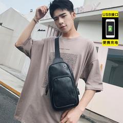 กระเป๋าผู้ชาย ราคาถูก กระเป๋าสะพายอก เอว ไหล่ เท่ๆ มี สีดำ สีน้ำตาล