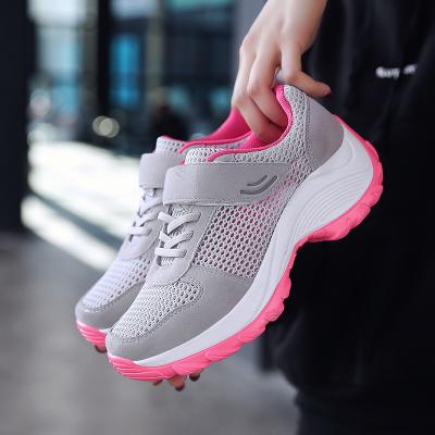รองเท้าผ้าใบผู้หญิง รองเท้าเดินป่า รองเท้าผ้าใบแฟชั่น